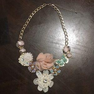 Jewelry - Pastel Flowers Necklaces